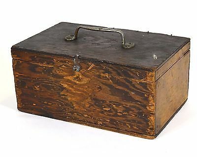 Vintage Hand Made Wooden Box