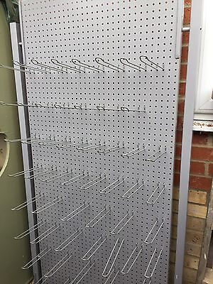Shop Display Rack With 50 Hooks