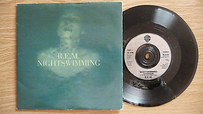 "R.E.M. - Nightswimming / Losing my religion 7"".1993,Indie,Alternative Rock"