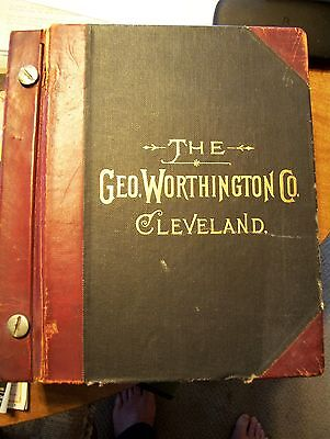 1909 Geo Worthington hardware catalog 2493 pages (ORIGINAL) APPROX 30 POUNDS