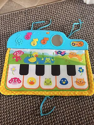 Baby Cot Piano Songs, Music, Lights, Mirror. Baby Development Toys