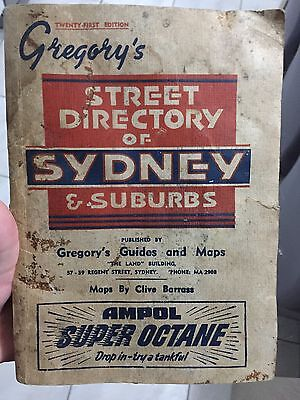 21st Edition Gregory's Street Directory