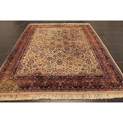 edel handgekn pft orient perser teppich ghom nain carpet tappeto tapis 240x175cm eur 40 50. Black Bedroom Furniture Sets. Home Design Ideas
