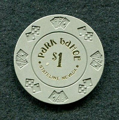 Park Tahoe $1 First Issue 1978 Casino Poker Chip State line, NV OBSOLETE