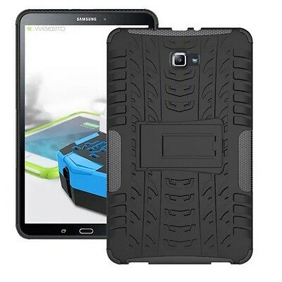 Hybrid Outdoor Protective Case Black for Samsung Galaxy Tab A 10.1 T580 T585