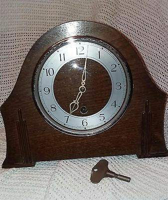 Smiths Enfield 1930s Mantle clock art deco