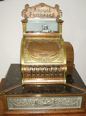 Ice Cream Soda Fountain National Cash Register Model 52 1/4 WOW! ...NCR