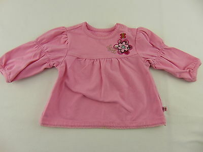 Baby Place Infant Girls Top Shirt Long Sleeve Pink Size 3-6 Months