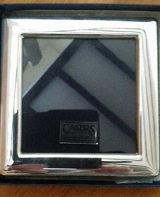 """925 sterling silver photo frame overall size 5""""x5"""""""