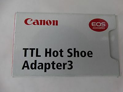 Canon TTL Hot Shoe Adapter 3 - TTL Multiple Flash Off-Camera Hot Shoe Adapter