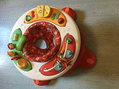 mothercare baby walker with rotating seat, sounds and activity centre