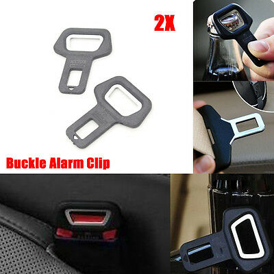 Universal Car Safety Seat Belt Buckle Alarm Eliminator Clip Stop Warning Opener