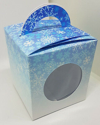 Frozen Inspired Cup Cake Boxes