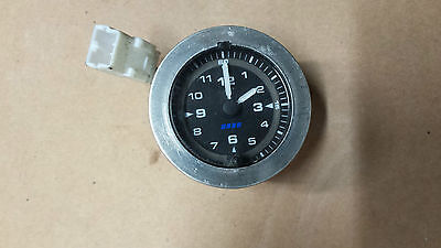 fiat coupe   dashboard display clock