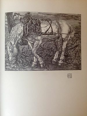 Pieter DUPONT, 1903 Original plate 'The White Horse' for The Studio