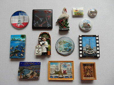 One Selected Souvenir Fridge Magnet from France