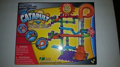 The Learning Journey Techno Gears Marble Mania, Catapult (100+ pcs) NEW