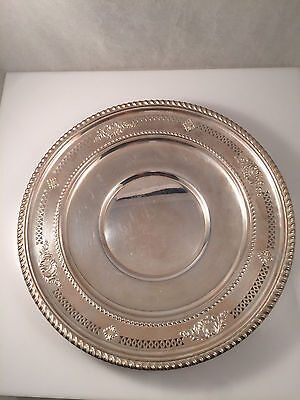 """Birks Sterling Silver 9"""" Tray SIR WREN pattern IS WALLACE ~ SIR CHRISTOPHER"""