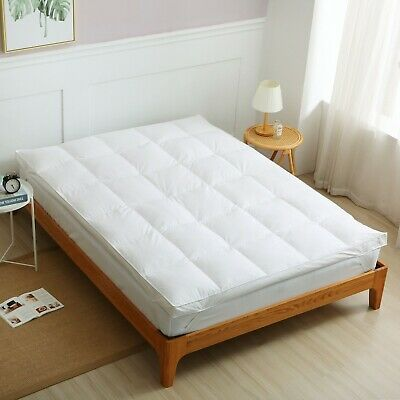 Bamboo Memory Foam Mattress Toppers Soft Luxurious Durable All Sizes & Thickness