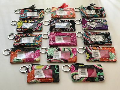 Vera Bradley Zip ID Case ~ NEW with TAG ~