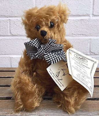 Deans Rag Book -Grandpa Terry- Collectors Ltd Ed Jointed Mohair Teddy Bear & Coa