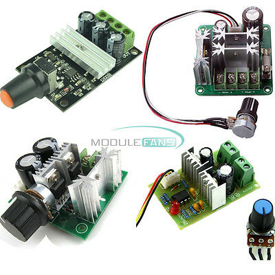 3/10/15A PWM DC 6V-28V/6-90V/12V-36V/12V-40V Motor Adjuster Speed Control Switch