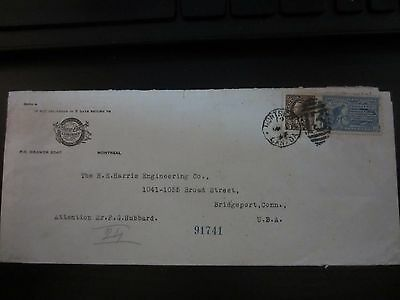 US Scott E10 on 4/17 Cover, INCOMING from CANADA.