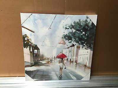 Stretched on Frame Hand Painted Oil Painting On Canvas New