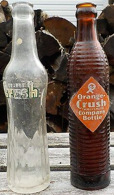 Orange Crush bottles
