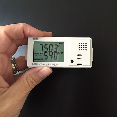 HOBO by Onset MX1101 Temperature/Relative Humidity Data Logger