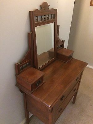 antique hall stand / Dressing Table