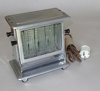 RARE Vintage Antique Toaster with Glass Doors