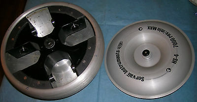 Sorvall Instruments Bucket Rotor HS-4, 7,000rpm, NO BUCKETS