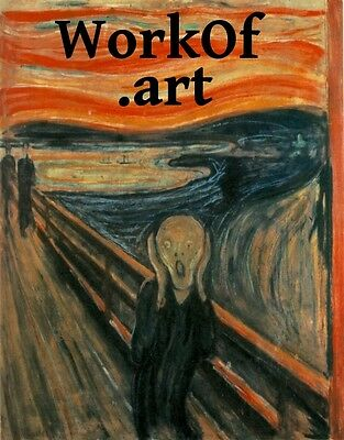 WorkOf .art top premium domain name WORK OF ART!