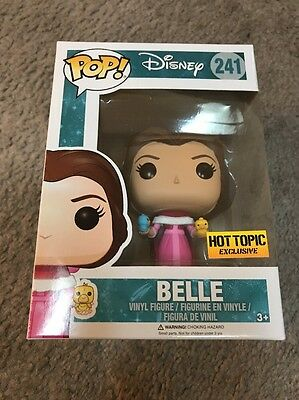 Funko Pop! Belle Beauty And The Beast Hot Topic Exclusive #241