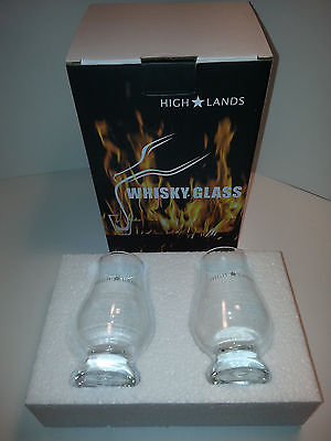 High * Lands Whiskey Tasting Glasses, TWIN PACK