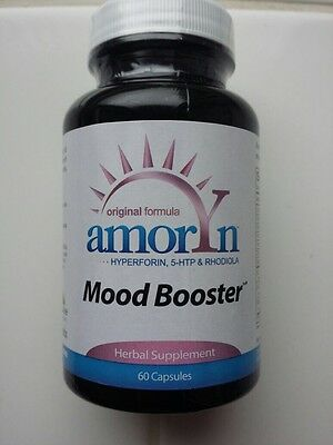 AMORYN Mood Booster, Anxiety Relief, Stress Reliever, Anti Depression - 60 caps