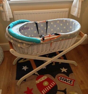 Mothercare Baby K Moses Basket With Stand