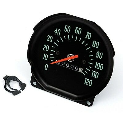 El Camino Speedometer, For Round Style Gauge Dash, With Console Shift Only, 1970