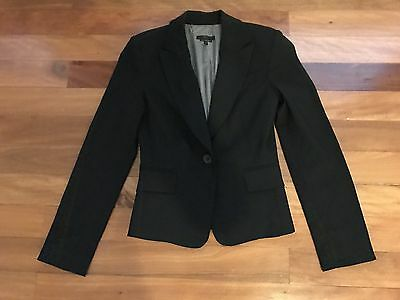 Beautiful black Cue jacket, 8 - 10, perfect for work and office