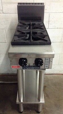 GOLDSTEIN COOKING/ BOILING Bench TOP - 2 BURNER LPG - PFB-12 With OptionAL STAND