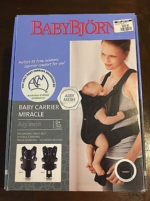 Baby Bjorn Baby Carrier Miracle - Airy Mesh
