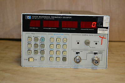 HP Agilent 5342A Microwave Frequency Counter