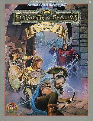 Advanced Dungeons & Dragons-FORGOTTEN REALMS-Marco Volo Arrival-new-very rare