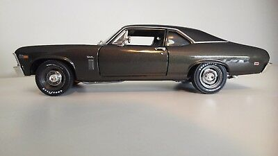 1969 Chevrolet Nova SS 396 Burnished Brown, 1:18 Scale Diecast
