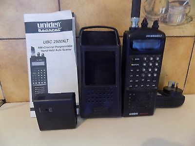 Uniden UBC 2500XLT 400 channel scanner.