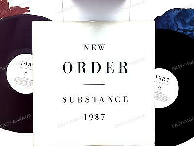 New Order - Substance CAN 2LP Embossed PS 1987 + Innerbags, Video-Insert //18
