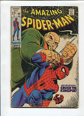 Marvel The Amazing Spiderman  #69  Good  Silver Age Comic 1960's