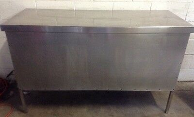 Commercial Cafe Restaurant Stainless Preperation Bench Front Counter1500mm