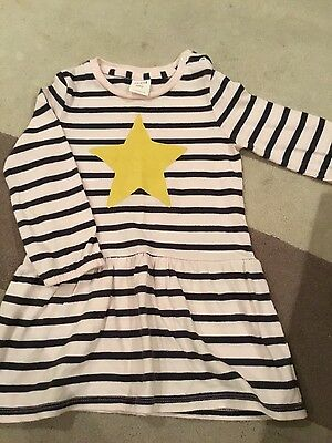 Baby girl Seed size 12-18 stripe dress